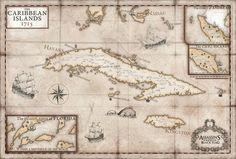 Black Flag map