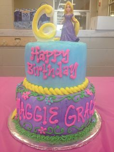 9 photo of 87 for rapunzel cakes tangled