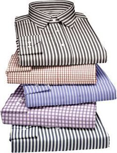 Pack Of 5 Assorted Formal Shirts For Mens (stripes Checks)