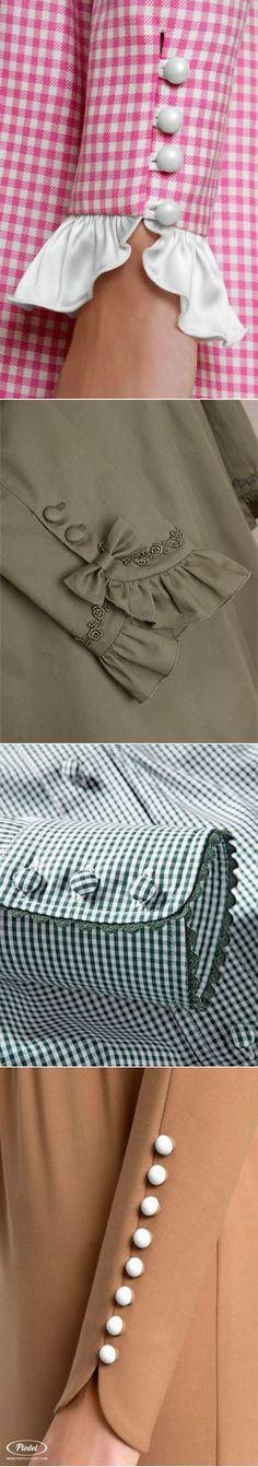 Своими руками (Творчество, Шитье, Выкройки)Акцент на рукав