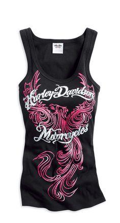 Harley-Davidson Women's Tattoo Tank