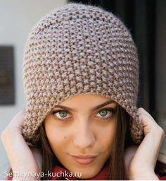 вязание шапок описание