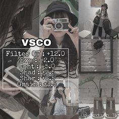 Vsco Presets, Lightroom Presets, Photography Filters, Photography Editing, Aesthetic Photo, Aesthetic Pictures, Vsco Effects, Vsco Cam Filters, Vsco Film