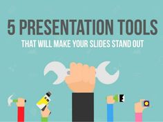 Presentation tools make creating slides much easier. Here are 5 free tools that you can start using right away. For more awesome tools just like these subscribe to get free updates!
