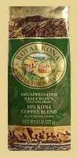 Royal Kona Coffee Ground Sam Choys Volcano Decaf  2 Bags  8 Oz Bag each Z2 >>> Want to know more, click on the image.