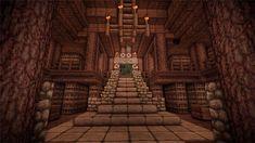Medieval Minecraft Library Design