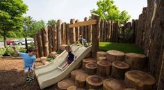 Natural playground hill slide Earthscape Play Visit our shop canvas art ideas architecture design room backyard diy playground playground playground playground playgrou. Kids Backyard Playground, Backyard Playset, Backyard Playhouse, Playground Design, Playground Ideas, Modern Playground, Children Playground, Playground Slide, Playground Flooring