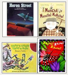 Books for Onomatopoeia (BTW my favorite word!)