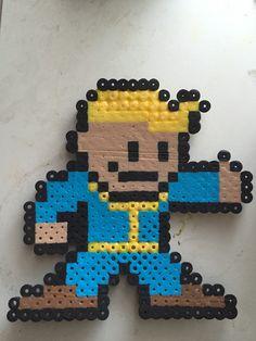 Fallout Pip Boy Perler Bead by CrystalsbyAlyssa on Etsy https://www.etsy.com/listing/242211211/fallout-pip-boy-perler-bead