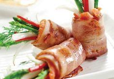 Cách làm món Cá hồi cuộn măng tây ngon