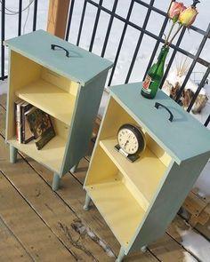 #reuso com gavetas de madeira. Pinterest:  http://ift.tt/1Yn40ab http://ift.tt/1oztIs0 |Imagem não autoral|