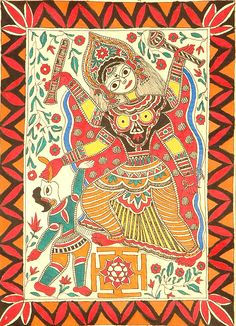 Mahavidya Bagalamukhi with Yantra - one of the ten mahavidyas (great wisdom goddesses) in Hinduism. Bagalamukhi Devi smashes the devotee's (or the devotee's enemies') misconceptions and delusions with her cudgel. She is also known as Pitambara Maa in Northern Parts of India. Mahavidyas or Dasha-Mahavidyas are a group of ten aspects of the Divine Mother or Kali herself or Devi in Hinduism, who represent a spectrum of feminine divinity, from horrific goddesses at one end, to the gentle at the…