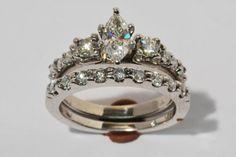 Beautiful Marquise Diamond Wedding Set
