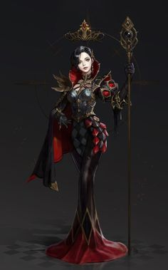 ArtStation - [CHESS -Black Queen], Monable .