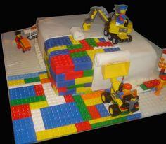 Lego Cake by katherine.arthurs, via Flickr