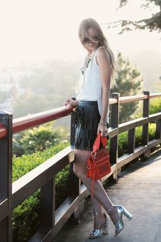 Lovely silver shoes - Late Afternoon: lifestyle