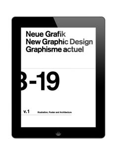 Daniel Rodriguez / Die Neue Grafik / Digital Book / 2012
