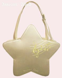 Innocent World Starry Keynote Embroidered Bag in gold