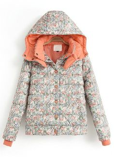 ++  Floral   Puffer