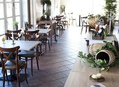 Restaurant interior - Foldens Hotel, Skagen, Denmark