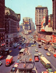 Times Square in 1955