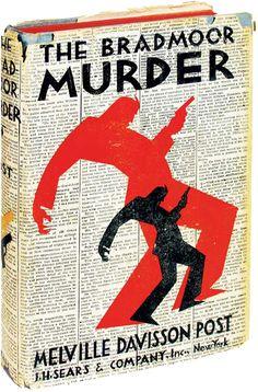"Perfect classic badass book design. - ""The Bradmoor Murder"""