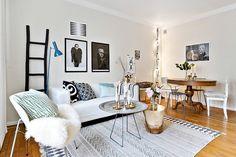 76 meilleures images du tableau petit appart small condo home decor et bedrooms - Interieur eclectique maison citiadine arent pyke ...