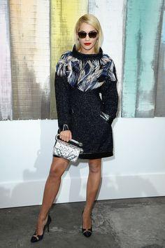 Rita Ora in Feathers