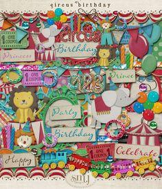 Circus Birthday | Shabby Miss Jenn Designs