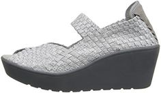 STEVEN by Steve Madden Womens Brynn MuleSilver85 M US ** Click affiliate link Amazon.com on image for more details.