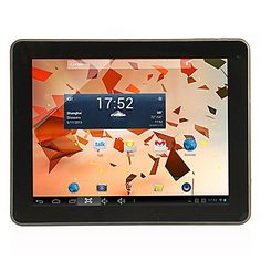 "A90 9.7"" WiFi Tablet(Android 4.2, Dual Core, 8G ROM, 1G RAM, Dual Camera, HDMI Out) – USD $ 99.99"