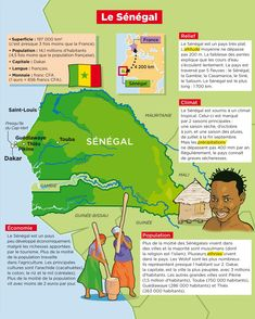 Le Sénégal Afrique Francophone, Pays Francophone, French Teaching Resources, Teaching French, French Education, French Class, French Language Learning, French Words, Socialism