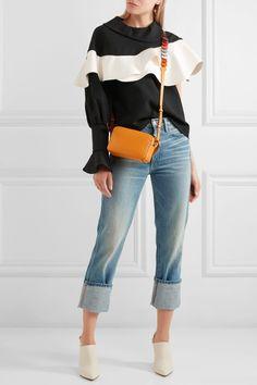 Anya Hindmarch | Circle mini leather shoulder bag | NET-A-PORTER.COM