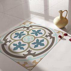 Floor Tile Decals/Stickers Vinyl Decals Vinyl Floor by videcor