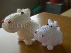 cute hippos :) by LauraP3, via Flickr