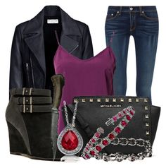 Meg Masters style inspired by Rachel Minor of the CW TV show 'Supernatural' Supernatural Cosplay, Fandom Outfits, Clint Barton, Masters, Balenciaga, Women's Clothing, Michael Kors, Women's Fashion, Clothes For Women