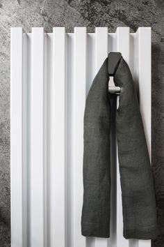 Vertical wall-mounted decorative radiator SOHO BATHROOM Elements Collection by Tubes Radiatori | design Ludovica Roberto Palomba