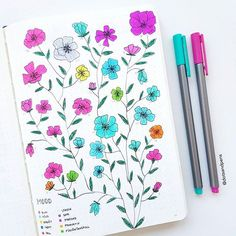 An old mood tracker from last year it's fun to look back at because it reflects my life at that point! I was tired and happy most of the time (blue=tired pink=happy). This was when I had my Bachelor's thesis and exams to finish before the exciting summer I had ahead I haven't done a mood tracker for the last few months because I tend to not fill them out all the time. But looking back on this one it makes me want to start doing them again…