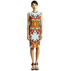 Givenchy Women's Printed Short Sleeved Dress I $1975.01 NOW $989 Trendland Shop