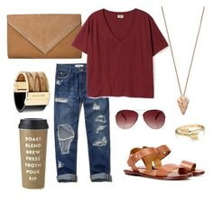 """""""Relaxed"""" by sydney-alexis-spradley on Polyvore featuring Abercrombie & Fitch, Pamela Love, MINKPINK, Polo Ralph Lauren, Bling Jewelry, Michael Kors and Kate Spade"""