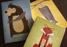 Woodland animals 3