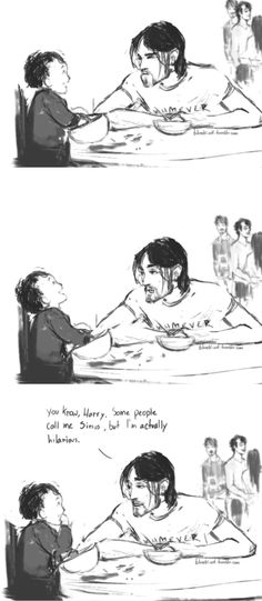 Sirius Black and Harry - funniest godfather ever