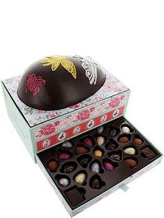 ARTISAN DU CHOCOLAT Curiosity large dark chocolate Easter egg