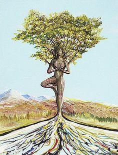 Tree Pose  by Piero Manrique