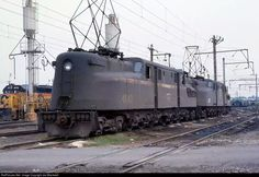 According to Wiki, the Chessie System was incorporated in Virginia on February 26, 1973. I never realized it was that early. So odd to see Chessie and PC in the same image, let alone a catenary system that reached from Altoona to Alenandria.