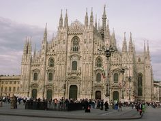 The Moody And Dark Gothic Architecture: Gothic Cathedral Architecture In Milan ~ lanewstalk.com Home decor Inspiration