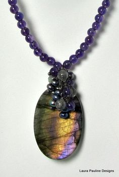 Labradorite love the colors in this stone