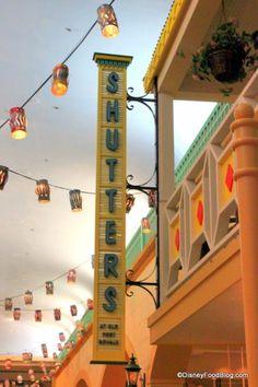 Shutters Restaurant at Disney's Caribbean Beach Resort @ Disneyworld Orlando Disney World Food, Disney World Parks, Disney World Resorts, Disney Vacations, Disney Trips, Dream Vacations, Orlando Restaurants, Disney World Restaurants, Caribbean Beach Resort