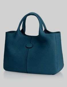 Small Shopping Bag In Leather, Collection, Woman, Tod's. Tods leather purses and handbags