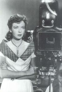 "Ida Lupino, director, screen star, co-founded ""The Filmakers"", 2nd woman to be inducted into the Director's Guild"